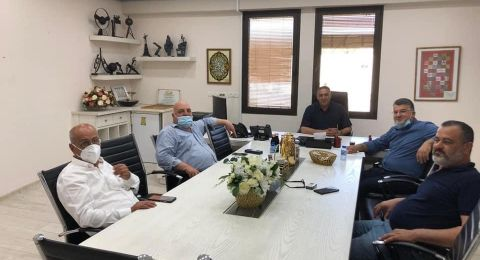 عضو الكنيست د.يوسف جبارين يزور مجلس المحلي كفرقرع للإطلاع على مواجهة أزمة الكورونا في شهر رمضان