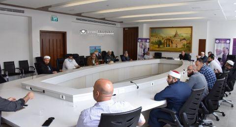 الناصرة: عشية رمضان رئيس البلدية يدعو رابطة الآئمة والمشايخ للتباحث