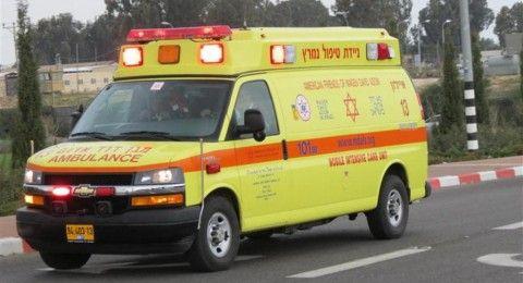 اللقية: اصابة حرجة لطفل (7سنوات) دهسًا