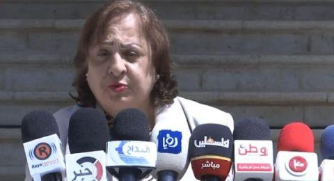 وزيرة الصحة الفلسطينية: تسجيل 11 إصابة جديدة بفيروس