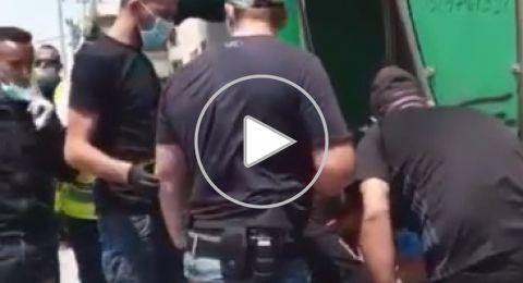 رهط: الشرطة الإسرائيلية تعتدي على مسنة وتنكل بها، بحجة الكورونا