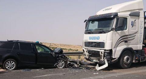 6 إصابات بينها خطيرة بحادث طرق قرب بيت لحم