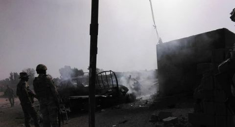 وسائل إعلام: انفجار سيارة مفخخة في مدينة القائم العراقية قرب الحدود السورية