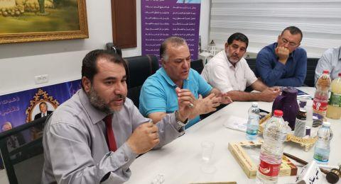 رئيس بلديّة الناصرة السيّد علي سلّام يلتقي الأئمة ورجال الدّين في رمضان