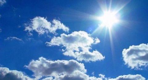 حالة الطقس:أجواء معتدلة وصيفية خفيفة