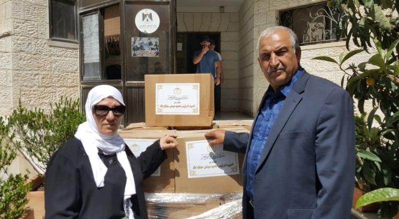 مكرمة رئاسية للعائلات المعوزة والحالات الإنسانية في القدس