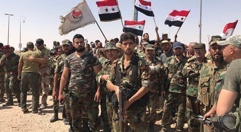 تدريبات روسية سورية مشتركة في الجولان
