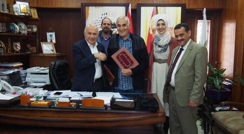 مؤسسة منيب وأنجلا المصري تتبرع بمليون دولار لصندوق تطوير المشهد الحضري لمدينة نابلس