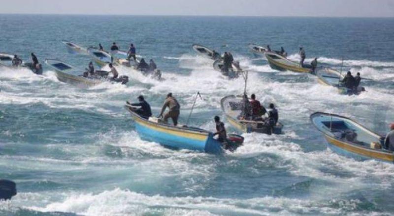 غزة: الصياديون يعلقون العمل- حكومة غزة تقلص تصدير الاسماك للضفة