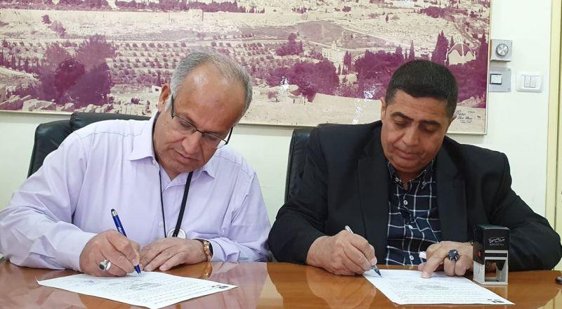 اللجنة القطرية الدائمة لدعم القدس توقع اتفاقية تعاون مشترك مع