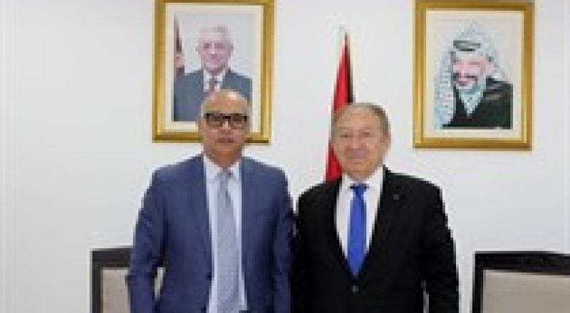 اتفاق فلسطيني مغربي على ابرام اتفاقية شراكة اقتصادية