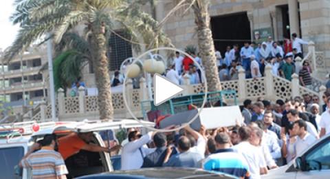 جنازة دينا ابنة هاني شاكر..بالصور وفيديو