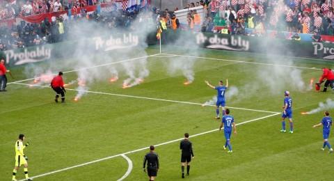 يورو 2016 – معاقبة كرواتيا بسبب أعمال الشغب
