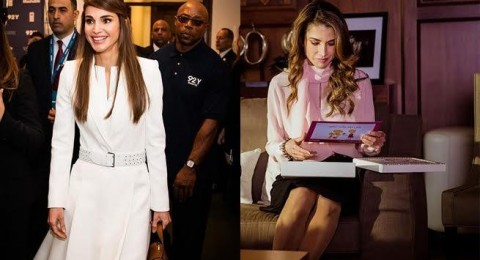 استوحي من الملكة رانيا تسريحتك لإطلالة رمضانية ساحرة