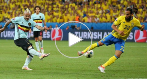 يورو 2016: إبراهيموفيتش يُودّع البطولة بعد الهزيمة أمام بلجيكا