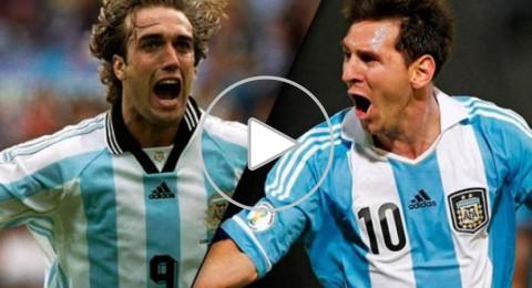 ميسي ينفرد بلقب الهداف التاريخي للأرجنتين