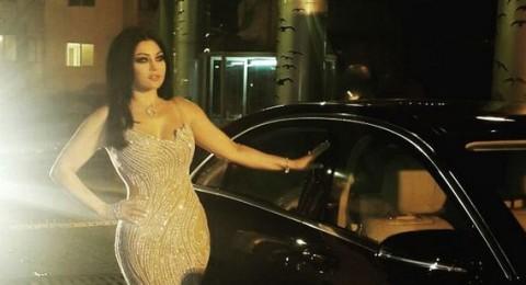 هيفاء وهبي بإطلالة مثيرة في حفل عيد الفطر