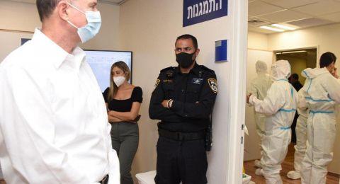 في زيارته إلى مستشفى إيخيلوف- وزير الصحّة يتضامن مع الممرضات والممرضين
