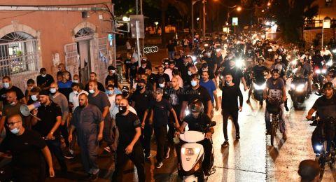 يافا: اعتقالات في أعقاب مظاهرة إحتجاجية