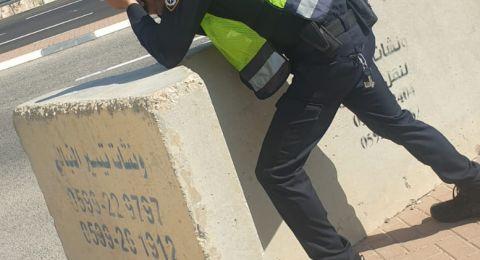 شرطة المرور تُحرر 4000 مخالفة