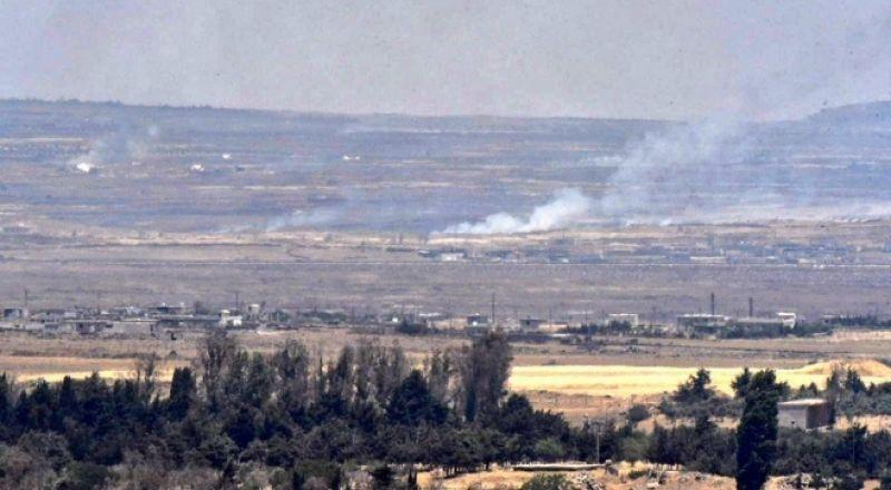 الجولان: اطلاق نار من قرية سورية تجاه هضبة الجولان