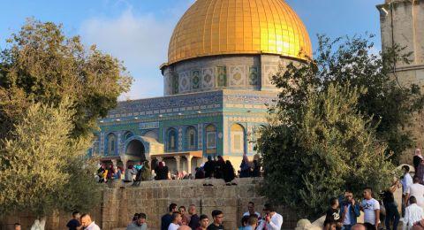 خطيب الأقصى يطالب برفع الحصار عن قطاع غزة
