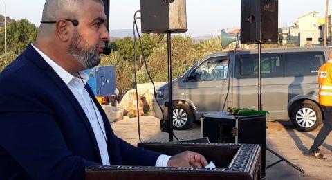 المئات في صلاة العيد في ديرحنا
