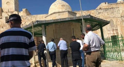القدس: اعتقال اربعة من عمال اعمار المسجد الاقصى