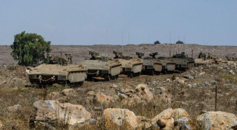 لواء جولاني في الجيش الاسرائيلي يجري تدريبات تحاكي القتال ضد حزب الله