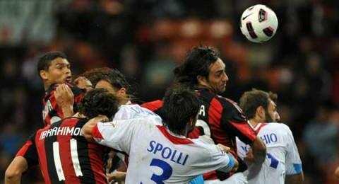 ميلان يواصل نزيف النقاط ويتعادل بملعبه مع كاتانيا في الدوري الايطالي
