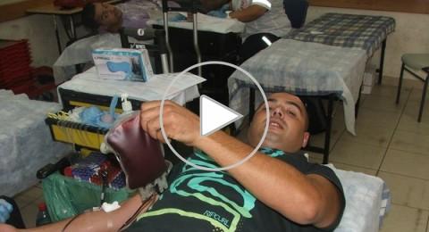 حملة للتبرع بالدم في مجد الكروم