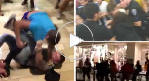 جنون الـ بلاك فرايدي.. ضرب وشتائم بين المتسوقين
