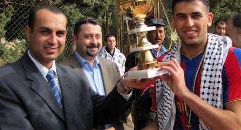 فلسطين والعراق في نهائي كره القدم في جامعة عمان الاهلية