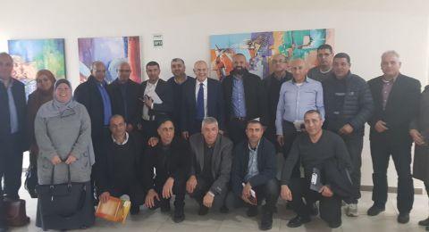 المدير العام لوزارة المعارف شموئيل ابواب يلتقي 25 مديرا من المجتمع العربي والبدوي لبحث آفة العنف