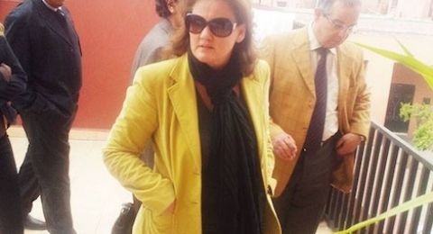 ابنة عم ملك المغرب تشارك بوقفة احتجاجية