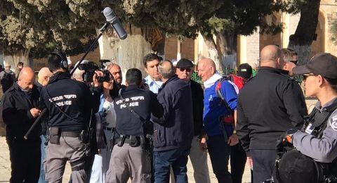 هيئات القدس تحذر من جعل الاقصى مسرحا للدعايات الانتخابية الاسرائيلية