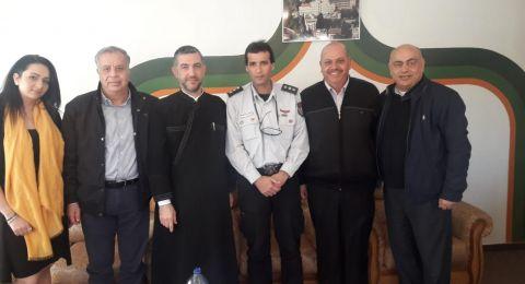 سلطة الاطفاء والانقاذ تعقد جلسات عمل مع ممثلي الكنائس في مدينة الناصرة