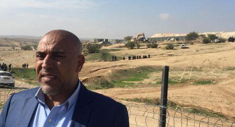 ابو عرار للمفتش العام للشرطة: