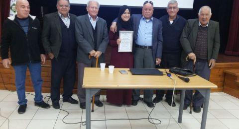 محاضرة لمتقاعدي دبوريه حول علم النفس في المجتمع العربي