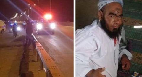 النقب: اعتقال شاب للإشتباه بمقتل الشيخ نصار الوليدي (50 عاماً)