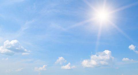 حالة الطقس:اجواء مُشمسة والحرارة أعلى من معدلها العام