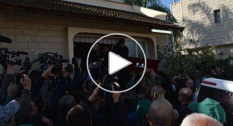 بالدموع والأحزان .. جثمان آية مصاروة يوارى الثرى في باقة