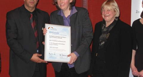 حفل توزيع الجوائز من قبل المعهد الألماني للديمقراطية والتسامح