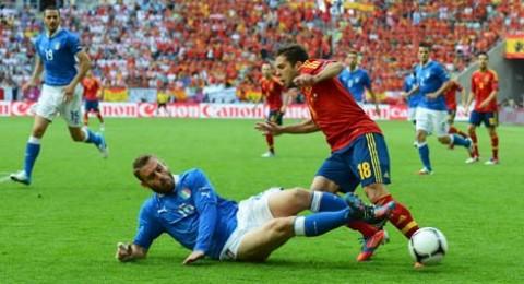 مباشر.. ايطاليا VS اسبانيا في مباراة ودية