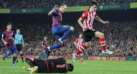 الليلة: إنقاذ الموسم شعار برشلونة وبلباو في نهائي الكأس