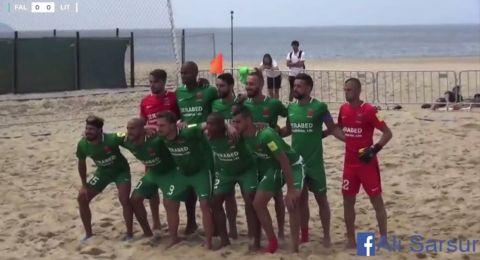 فوز كبير لفريق الشواطئ القسماوي في اولى مبارياته ضمن بطولة كأس اوروبا للاندية