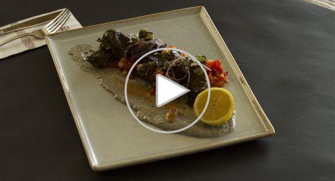 طبختنا بُـكرا: سمك براك بالكرمه والباذنجان