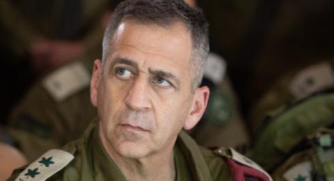 كوخافي: مواجهة عسكرية محتملة مع غزة قريبا