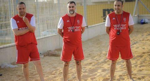نادي فلفلة كفرقاسم يستعد لخوض بطولة دوري الابطال لكرة الشاطئ