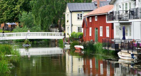 عطلة صيفية في جزيرة جوتلاند السويدية